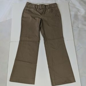 Gap Curvy stretch light brown bootcut pants